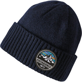 Patagonia Brodeo Beanie Fitz Roy Scope: Navy Blue